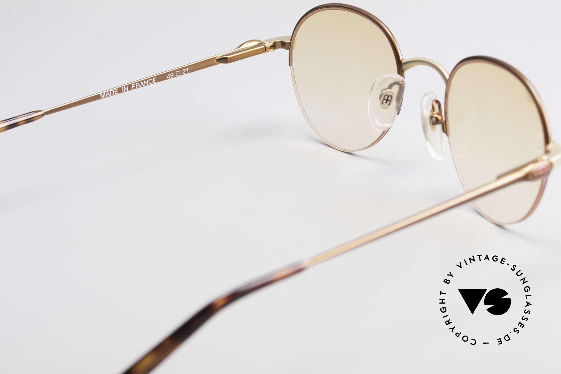 Bugatti 26669 Seltene Bugatti Panto Brille, KEINE Retrobrille, sondern ein altes ORIGINAL, Passend für Herren