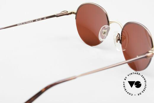 Bugatti 26619 Runde Bugatti Panto Brille, KEINE Retrobrille, sondern ein altes ORIGINAL, Passend für Herren