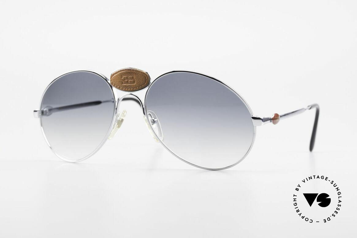 Bugatti 64745 Seltene Sammlersonnenbrille, 64745: extrem seltene vintage Sonnenbrille von Bugatti, Passend für Herren