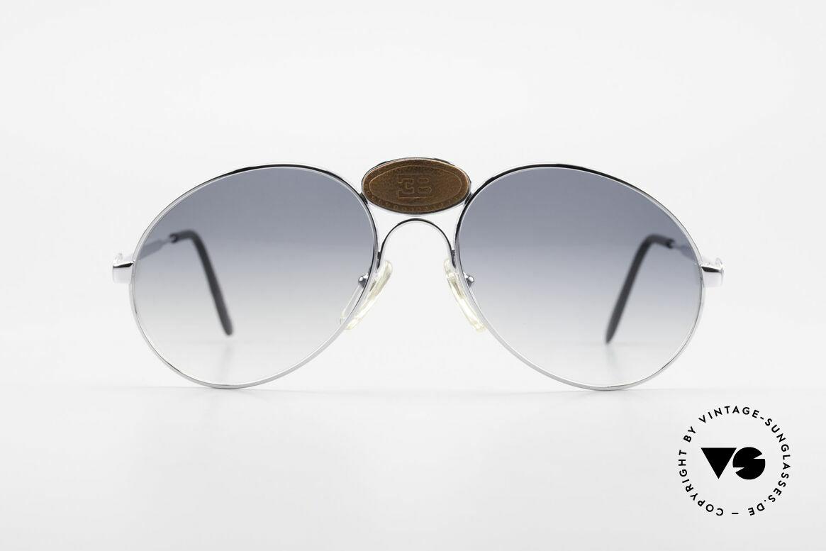 Bugatti 64745 Seltene Sammlersonnenbrille, echte Rarität (in Handarbeit gefertigt); Sammlerbrille!, Passend für Herren