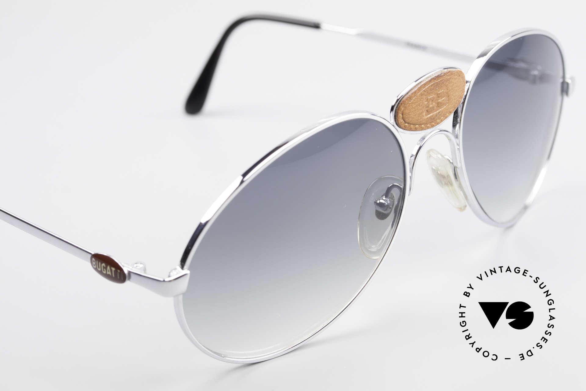 Bugatti 64745 Seltene Sammlersonnenbrille, wahres Unikat: heutzutage gar nicht mehr zu bekommen, Passend für Herren