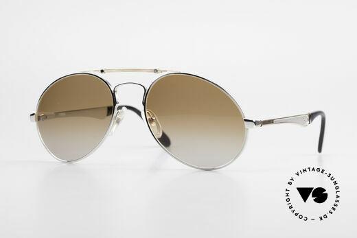 Bugatti 11909 80er Luxus Sonnenbrille Herren Details