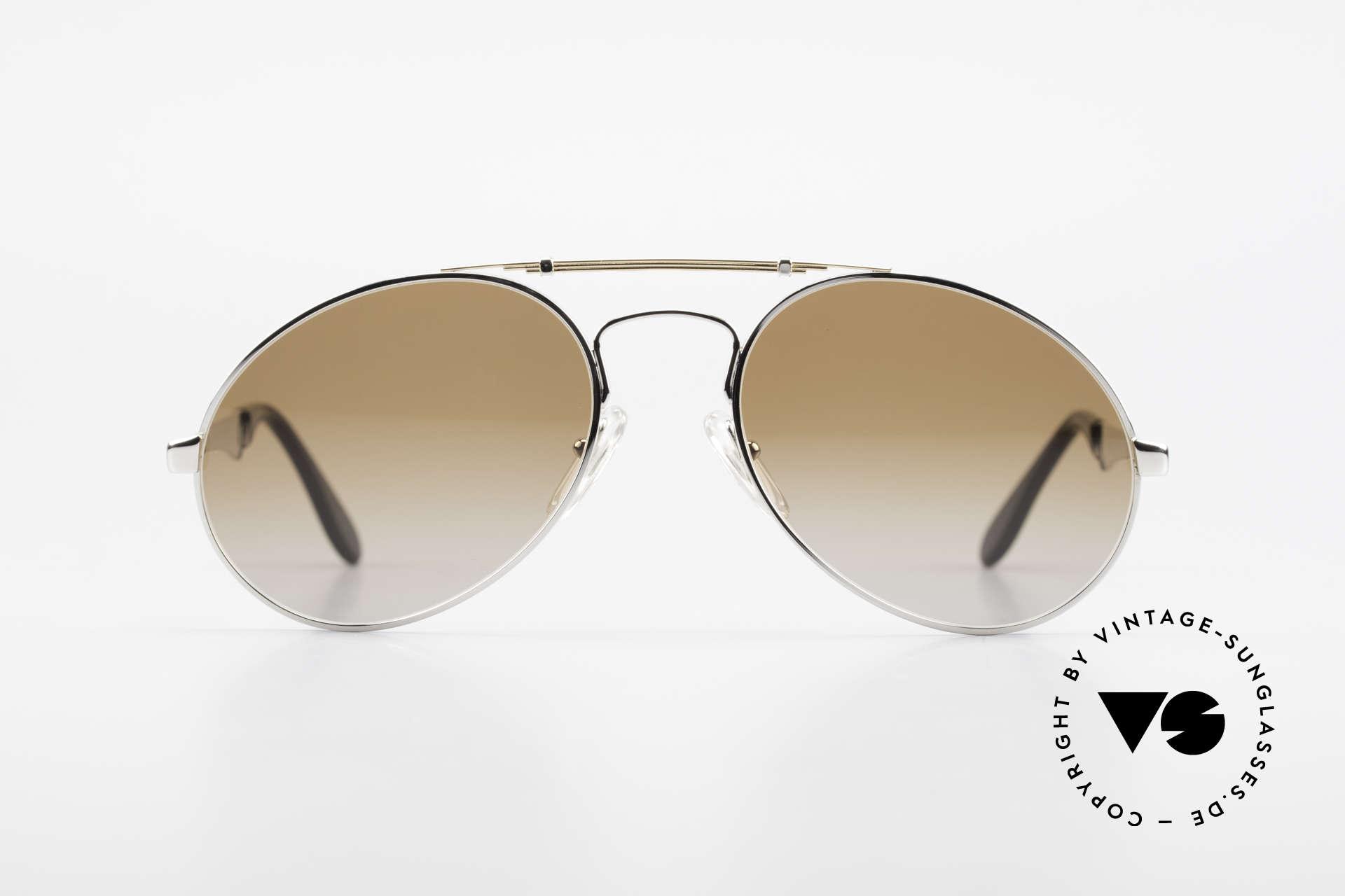 Bugatti 11909 80er Luxus Sonnenbrille Herren, der Bugatti-KLASSIKER in perfekter Vollendung, Passend für Herren