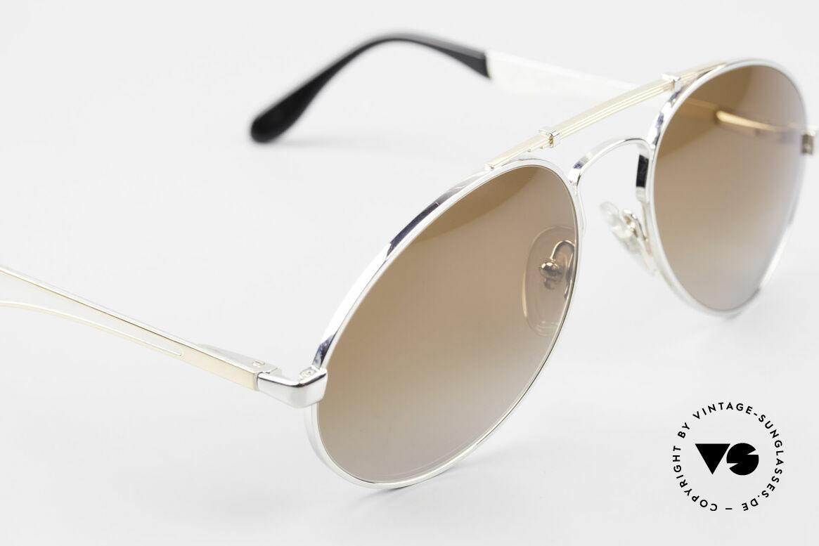 Bugatti 11909 80er Luxus Sonnenbrille Herren, ungetragenes, sehr sehr edles Modell inkl. Etui, Passend für Herren