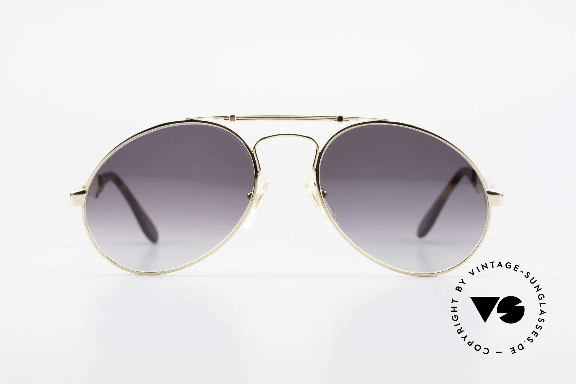 Bugatti 11911 80er Herren Luxus Sonnenbrille, der Bugatti-KLASSIKER in perfekter Vollendung, Passend für Herren