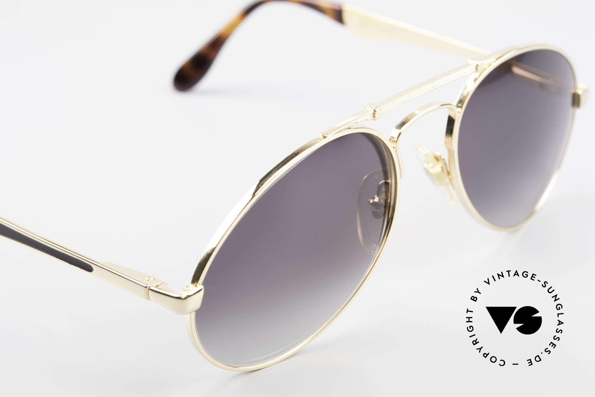 Bugatti 11911 80er Herren Luxus Sonnenbrille, KEINE Retrobrille; sondern alte ORIGINALbrille, Passend für Herren