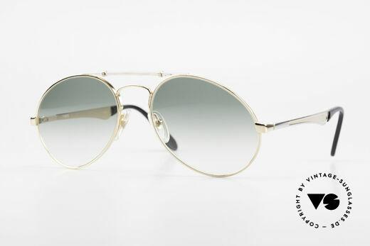 Bugatti 11908 80er Luxus Sonnenbrille XLarge Details