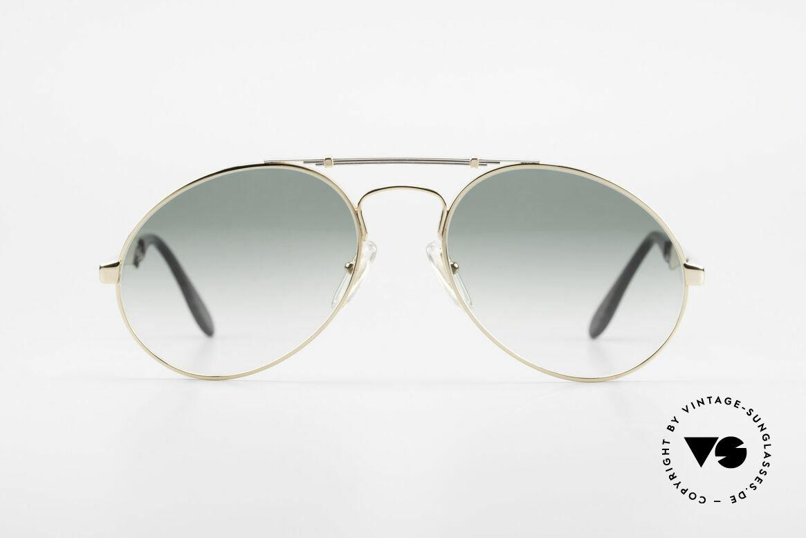 Bugatti 11908 80er Luxus Sonnenbrille XLarge, der Bugatti-KLASSIKER in perfekter Vollendung, Passend für Herren