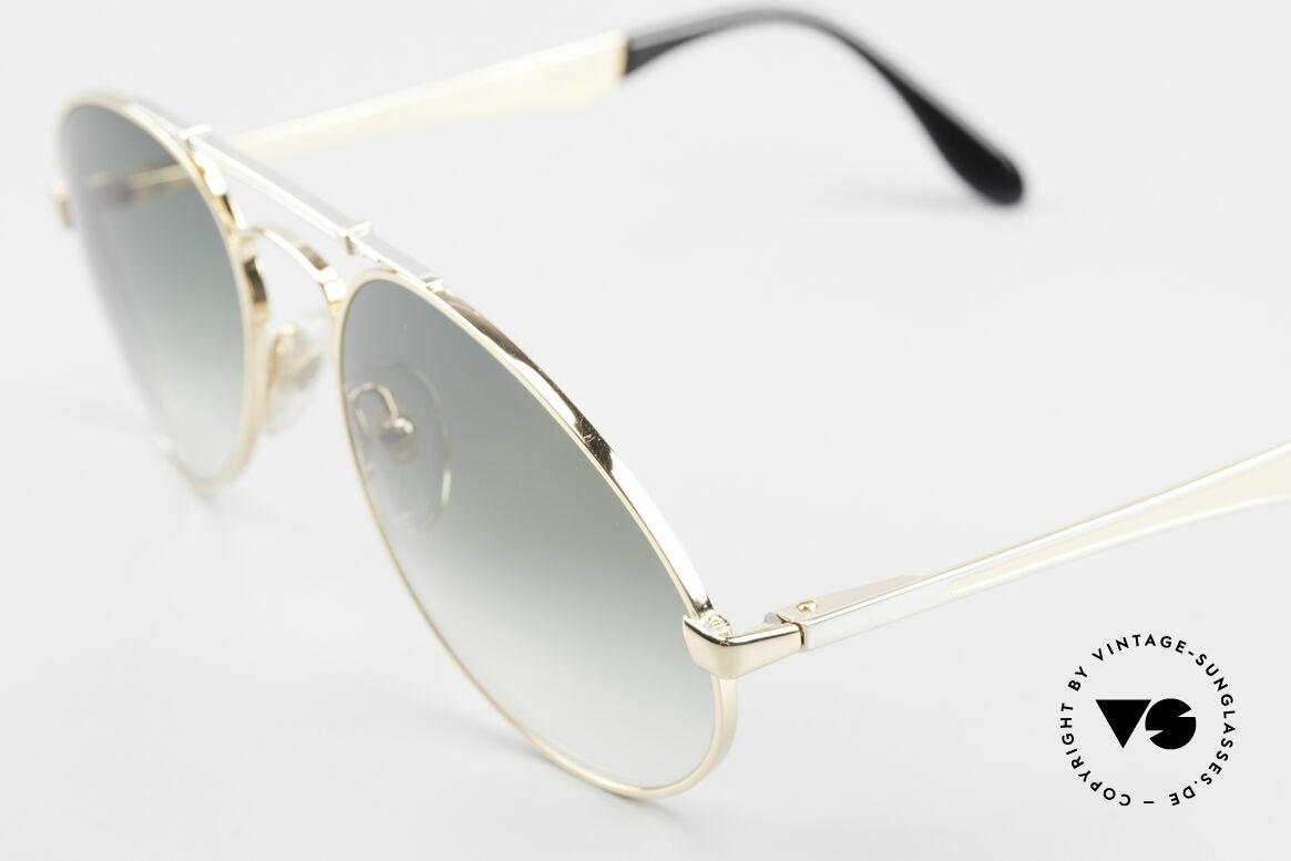 Bugatti 11908 80er Luxus Sonnenbrille XLarge, ungetragenes, sehr sehr edles Modell inkl. Etui, Passend für Herren