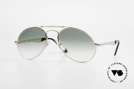 Bugatti 11908 Large 80er Luxus Sonnenbrille Details