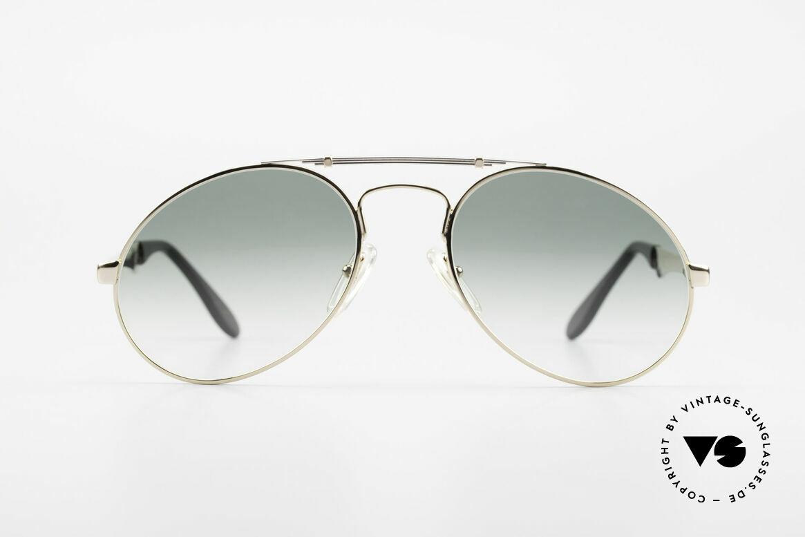 Bugatti 11908 Large 80er Luxus Sonnenbrille, der Bugatti-KLASSIKER in perfekter Vollendung, Passend für Herren