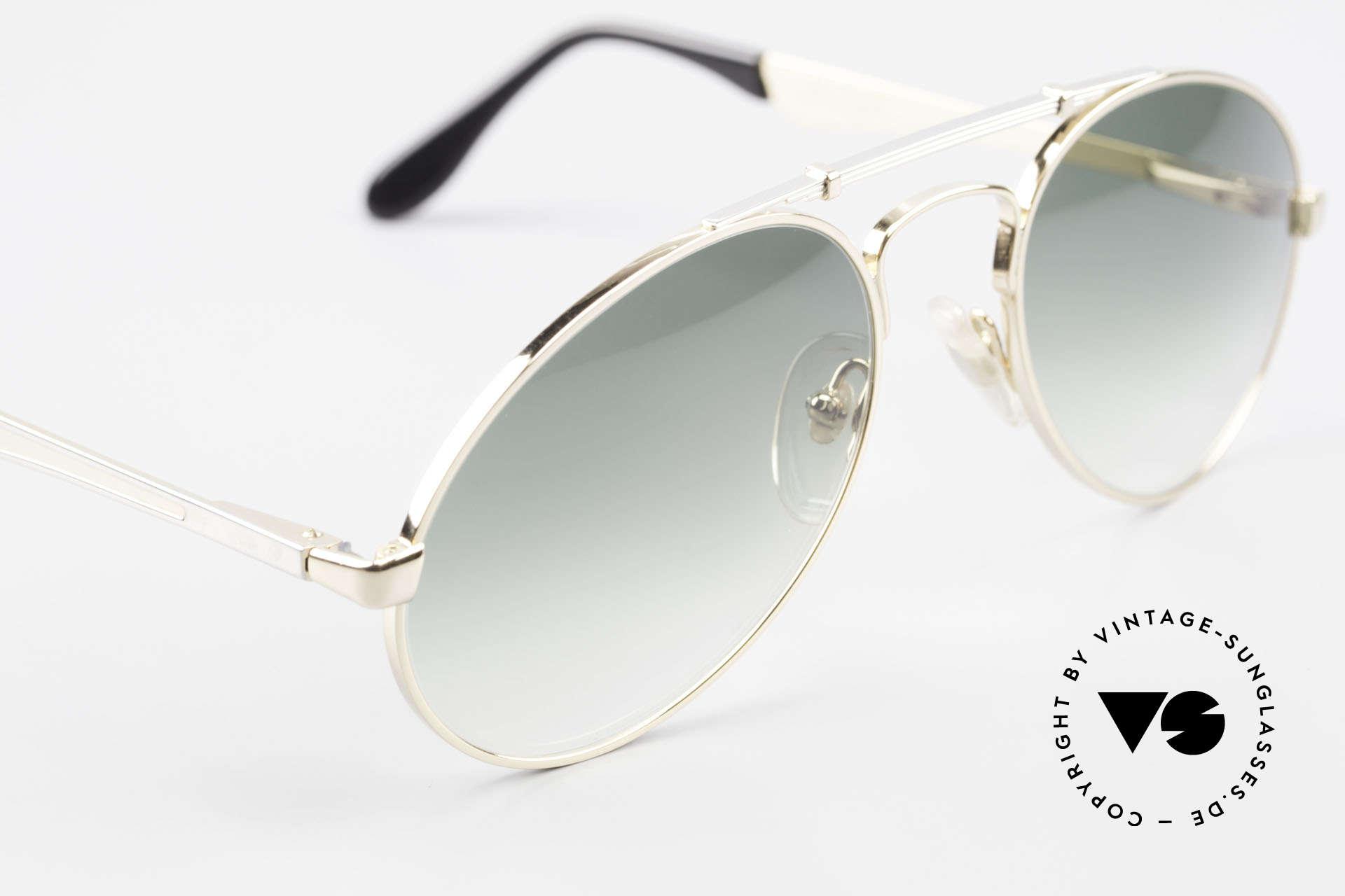 Bugatti 11908 Large 80er Luxus Sonnenbrille, KEINE Retrobrille; sondern alte ORIGINALbrille, Passend für Herren