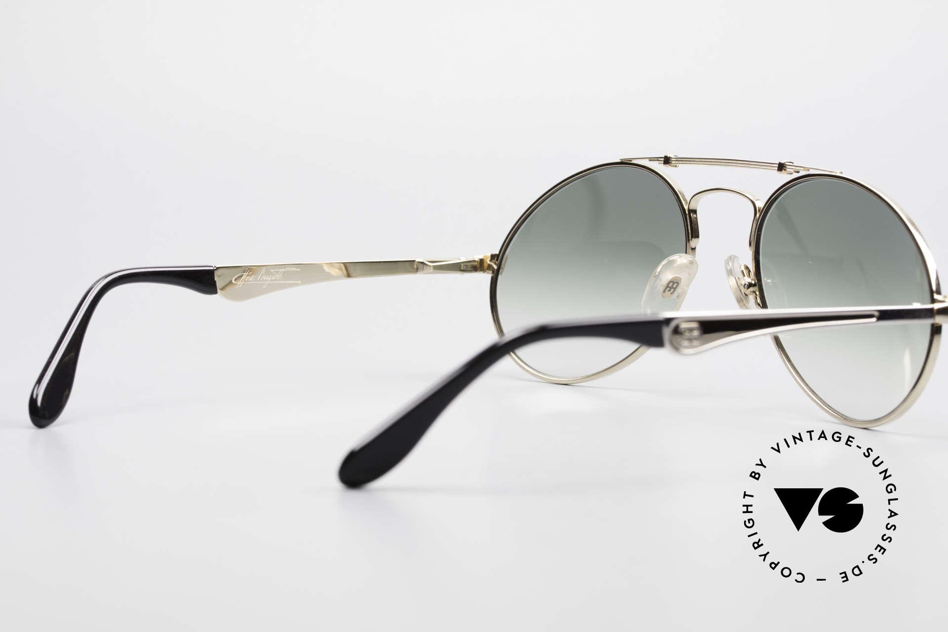 Bugatti 11908 Large 80er Luxus Sonnenbrille, Größe: large, Passend für Herren