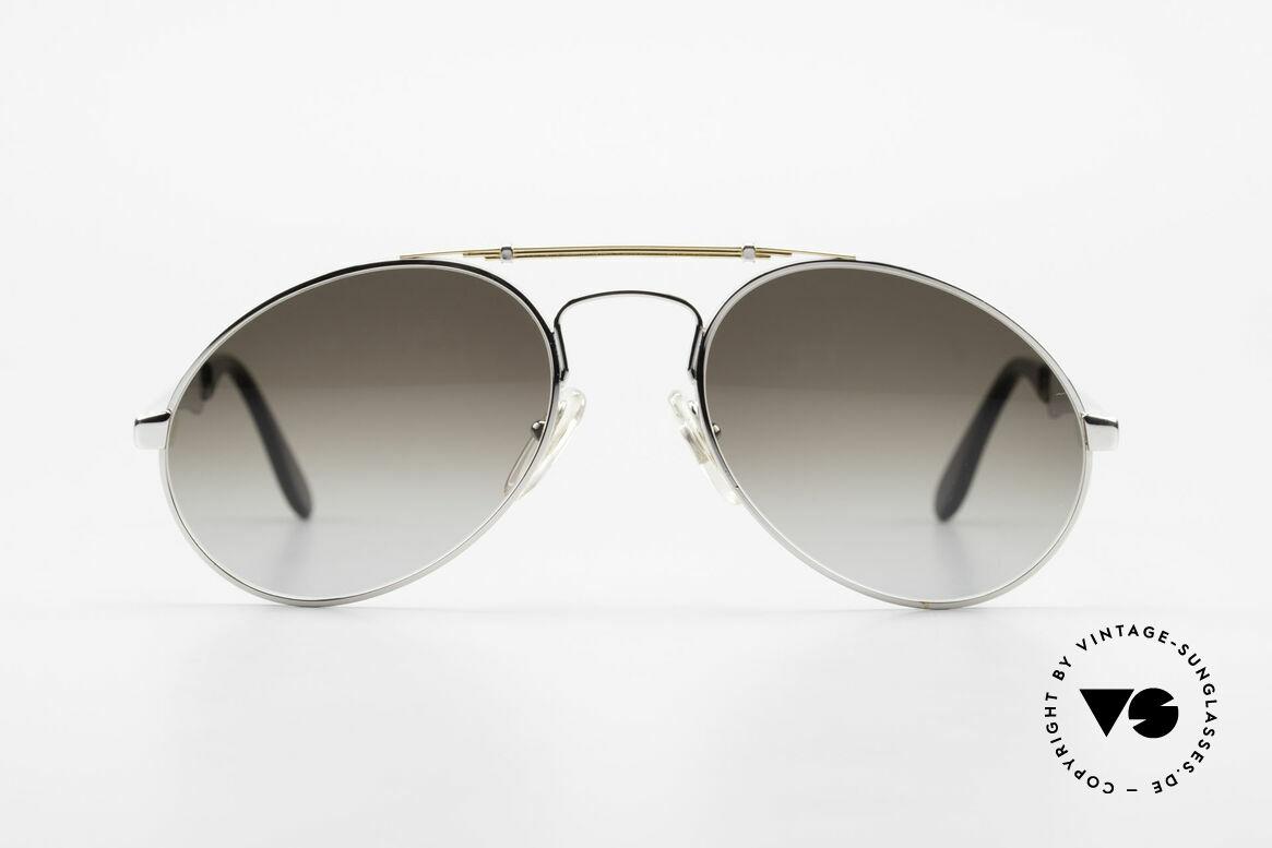 Bugatti 11909 80er Luxus Sonnenbrille Large, der Bugatti-KLASSIKER in perfekter Vollendung, Passend für Herren