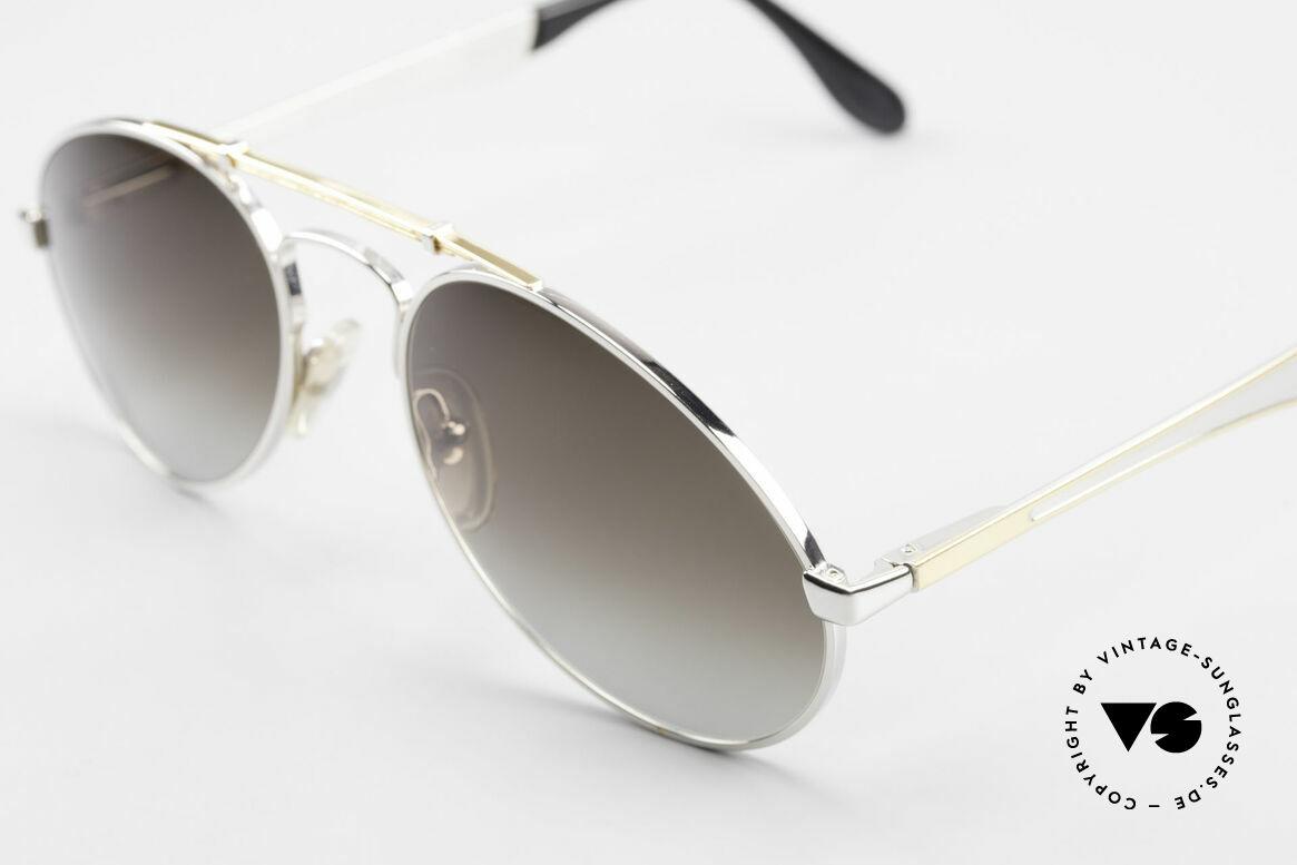 Bugatti 11909 80er Luxus Sonnenbrille Large, ungetragenes, sehr sehr edles Modell inkl. Etui, Passend für Herren