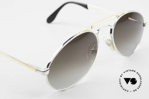 Bugatti 11909 80er Luxus Sonnenbrille Large, KEINE Retrobrille; sondern alte ORIGINALbrille, Passend für Herren