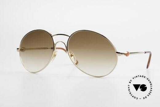 Bugatti 64947 Original 80er XL Sonnenbrille Details