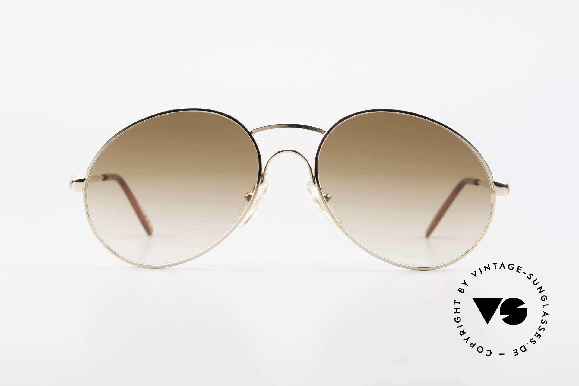 Bugatti 64947 Original 80er XL Sonnenbrille, höchste Qualität & beste Passform (made in France), Passend für Herren