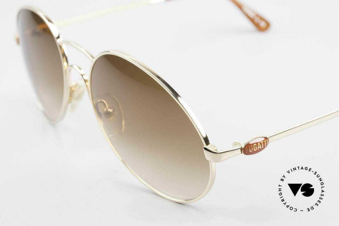 Bugatti 64947 Original 80er XL Sonnenbrille, ungetragen; wie all unsere seltenen vintage Bugattis, Passend für Herren