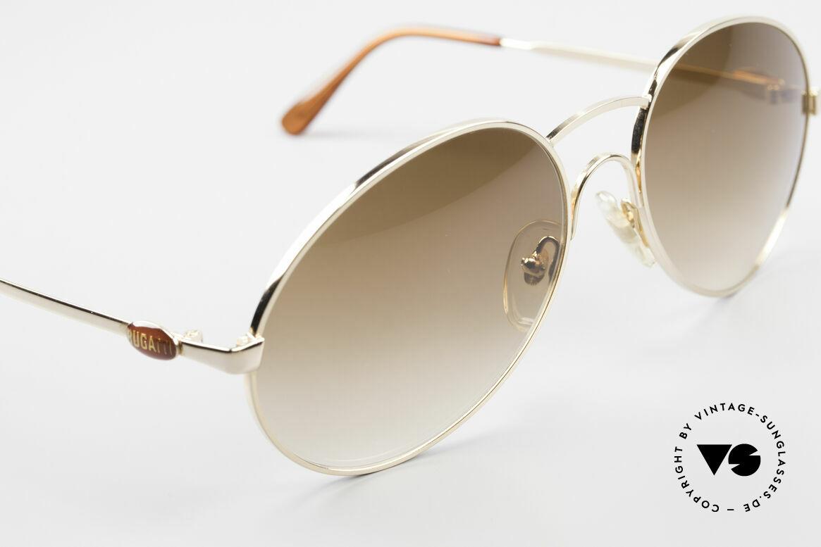 Bugatti 64947 Original 80er XL Sonnenbrille, ein altes Original von 1983 und KEINE RETRObrille!, Passend für Herren