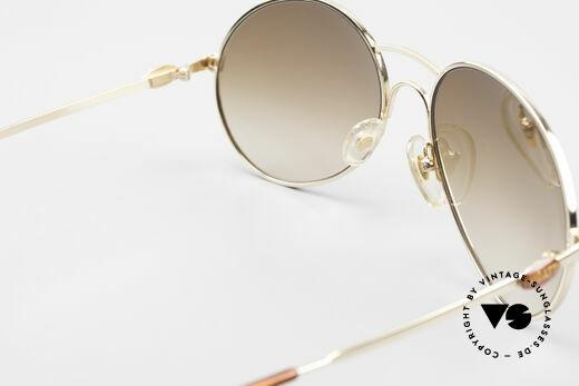 Bugatti 64947 Original 80er XL Sonnenbrille, Sonnengläser könnten beliebig ausgetauscht werden, Passend für Herren