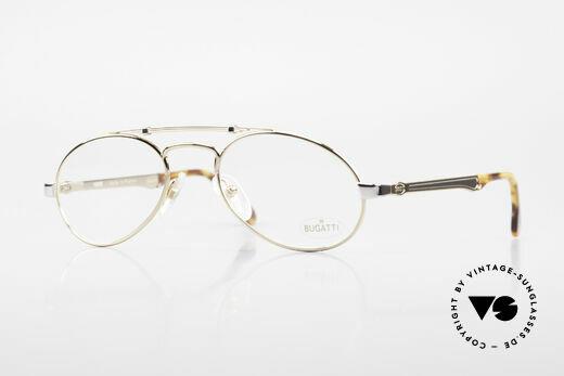 Bugatti 16908 Vergoldete Vintage Brille 80er Details