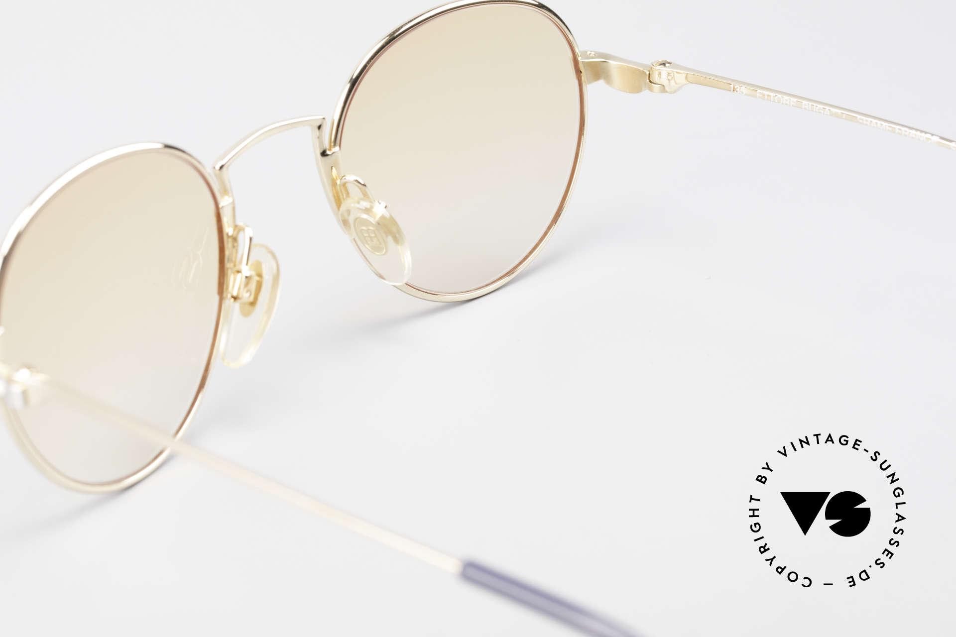 Bugatti EB600 Small 90er Luxus Panto Brille, KEINE RETRObrille, sondern ein altes ORIGINAL, Passend für Herren