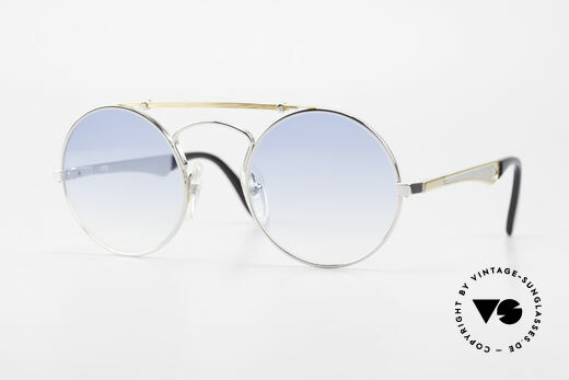 Bugatti 11709 80er Luxus Sonnenbrille Rund Details