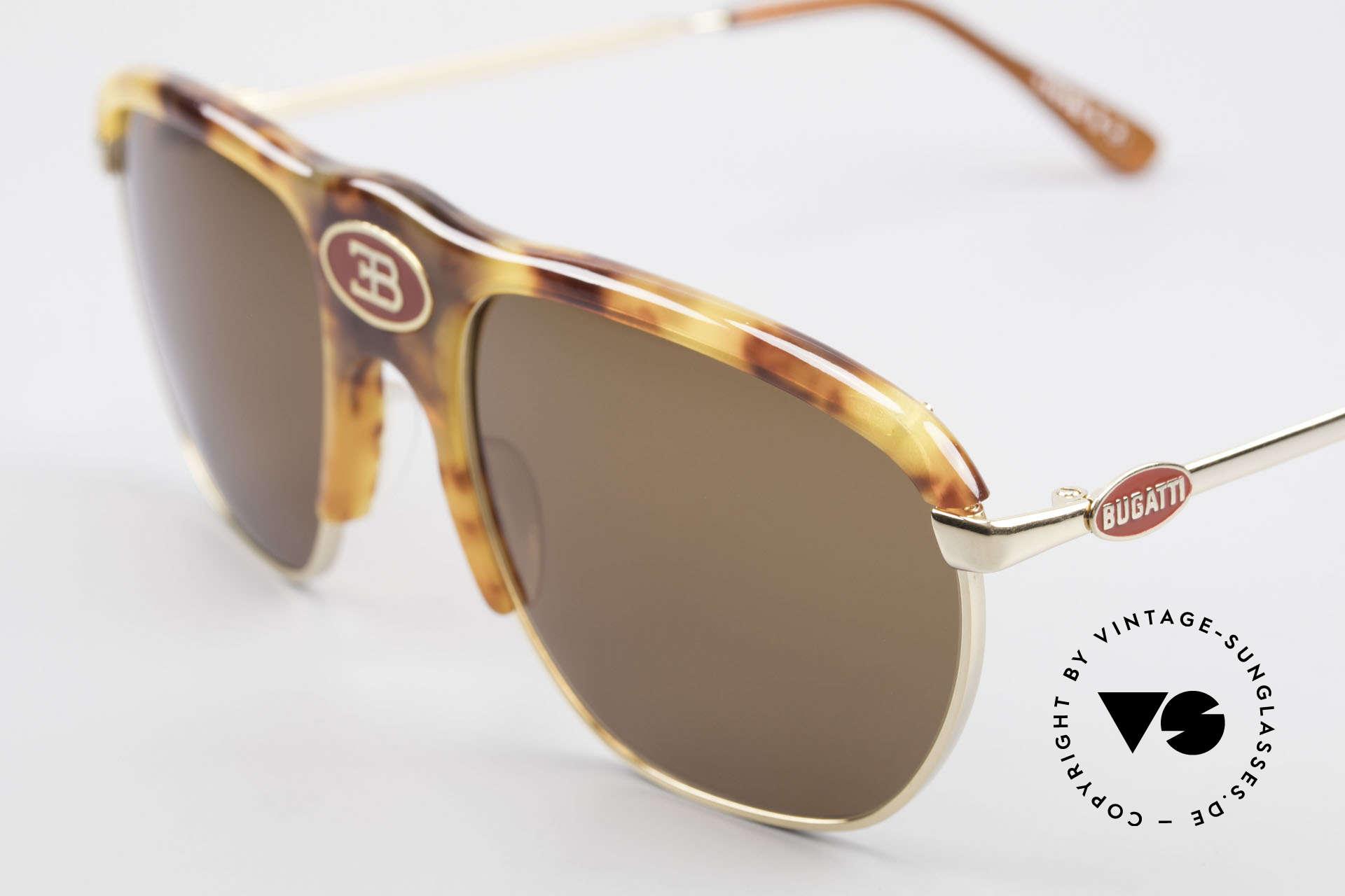 Bugatti 65218 Alte 70er Bugatti Sonnenbrille, kostbare RARITÄT und ein absolutes Sammlerstück!, Passend für Herren
