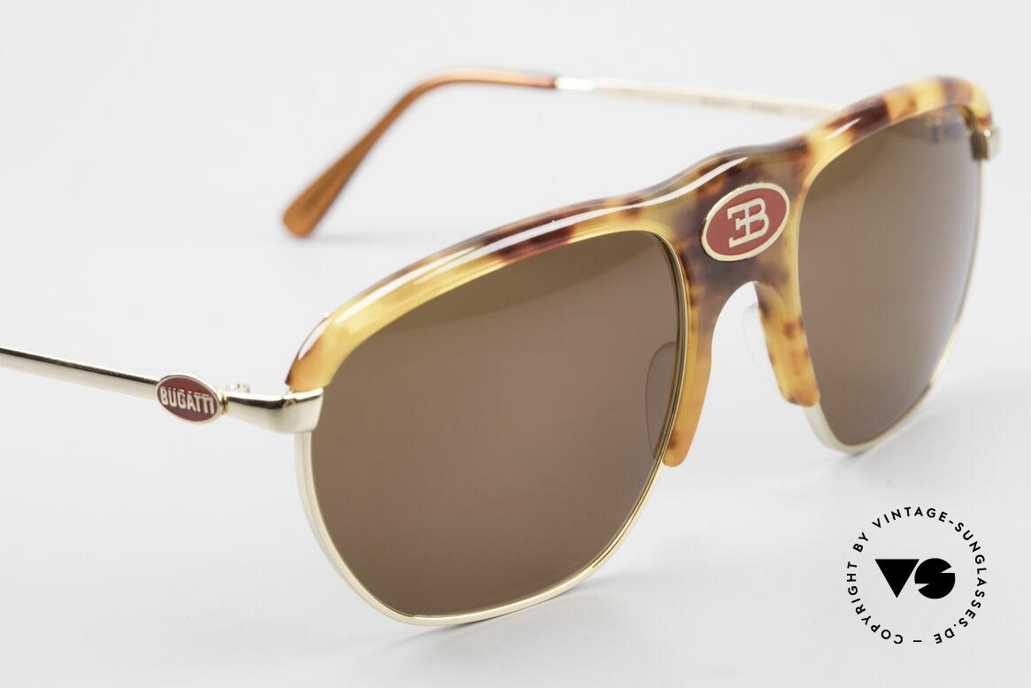 Bugatti 65218 Alte 70er Bugatti Sonnenbrille, ungetragen (wie alle unsere alten BUGATTI Unikate), Passend für Herren