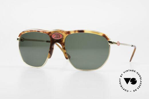 Bugatti 65218 Seltene Alte 70er Bugatti Brille Details