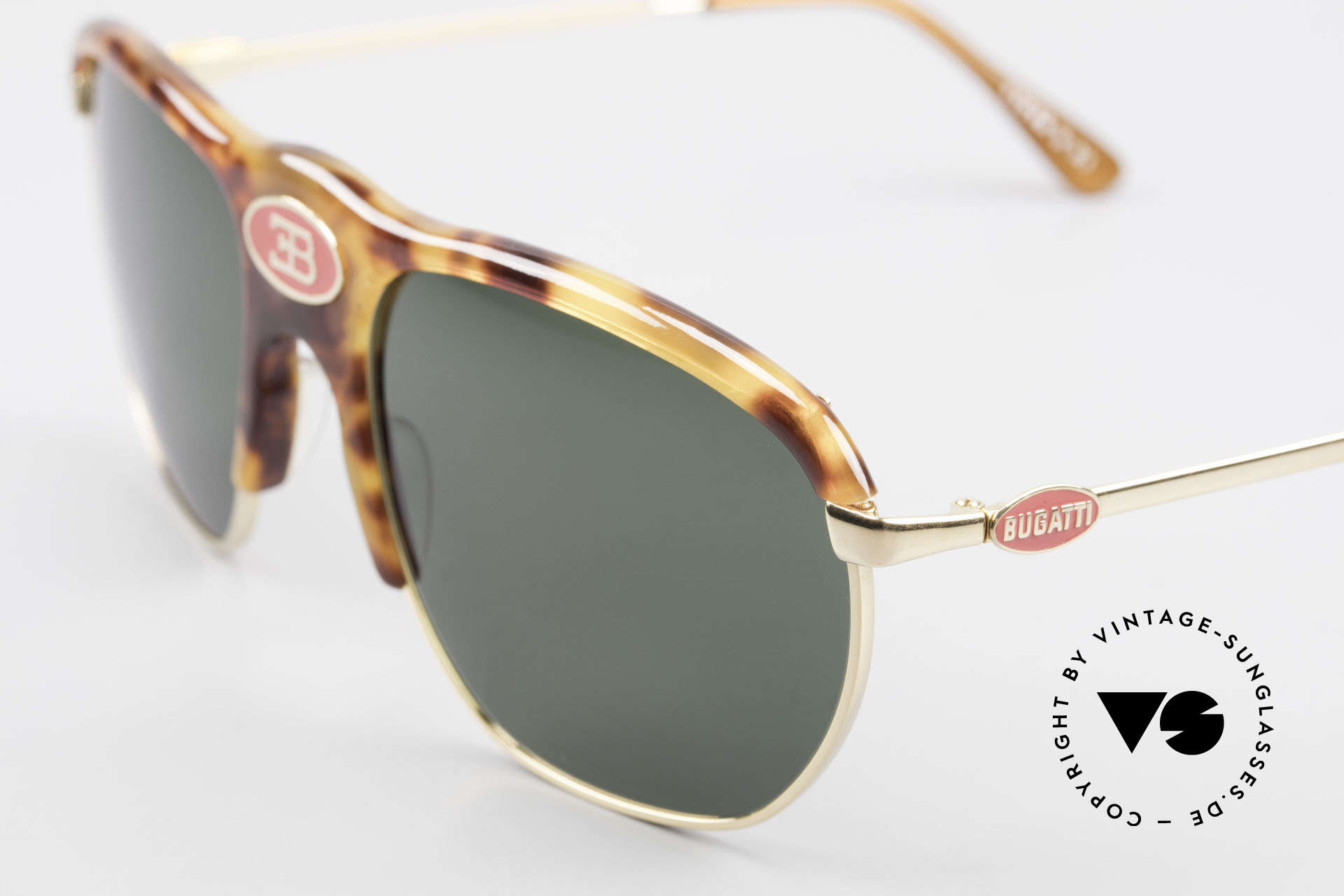 Bugatti 65218 Seltene Alte 70er Bugatti Brille, kostbare RARITÄT und ein absolutes Sammlerstück!, Passend für Herren