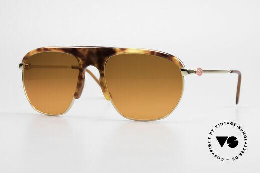Bugatti 65219 Außergewöhnliche 70er Brille Details