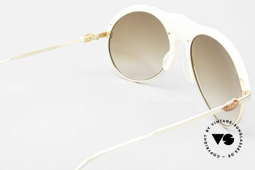 Bugatti 64748 Elfenbein Optik 70er Brille, KEIN RETRO; sondern ein 40 Jahre altes Einzelstück!, Passend für Herren
