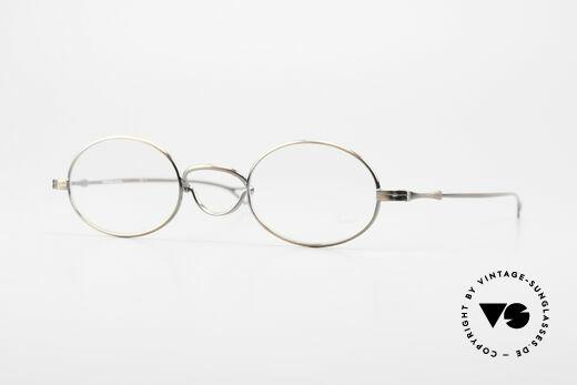 Lunor Swing Oval Vintage Brille Mit Schwenksteg Details