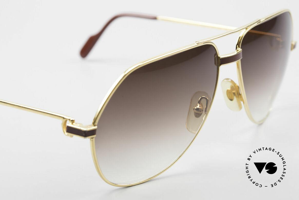 Cartier Vendome Laque - L Luxus Aviator Sonnenbrille