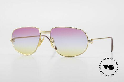 Cartier Romance LC - L Luxus Designer Sonnenbrille Details