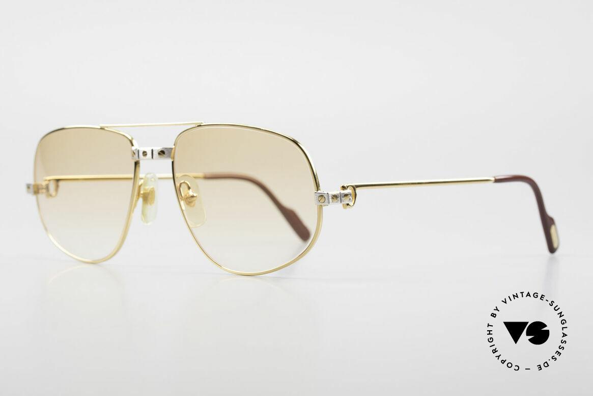 Cartier Romance Santos - L Luxus Vintage Sonnenbrille