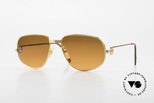 Cartier Romance LC - S Luxus Designer Sonnenbrille Details
