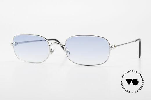 Cartier Deimios 90er Luxus Platin Sonnenbrille Details