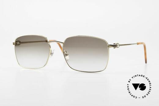 Cartier C-Decor Metal Klassische Herren Sonnenbrille Details