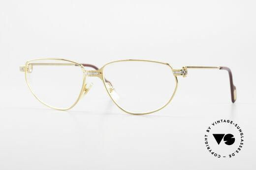 Cartier Panthere Windsor - S Alte Luxusbrille der 1990er Details