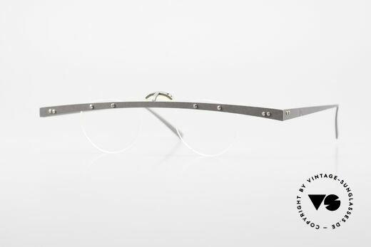Theo Belgium Tita IV 8 Außergewöhnliche 90er Brille Details