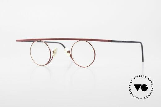 Theo Belgium Tawa Vintage Trendsetter Brille 90er Details