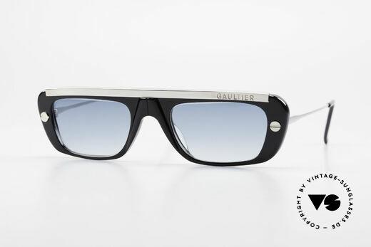 Jean Paul Gaultier 55-0771 Markante JPG Sonnenbrille Details