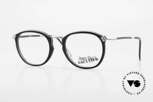 Jean Paul Gaultier 55-1272 Alte Vintage Brille No Retro Details