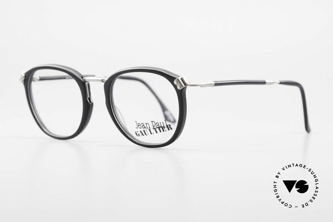 Jean Paul Gaultier 55-1272 Alte Vintage Brille No Retro, Rahmenteile sind hochwertig vernietet oder geschraubt, Passend für Herren und Damen