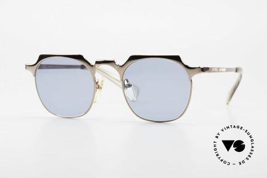 Jean Paul Gaultier 57-0171 Panto Designer Sonnenbrille Details