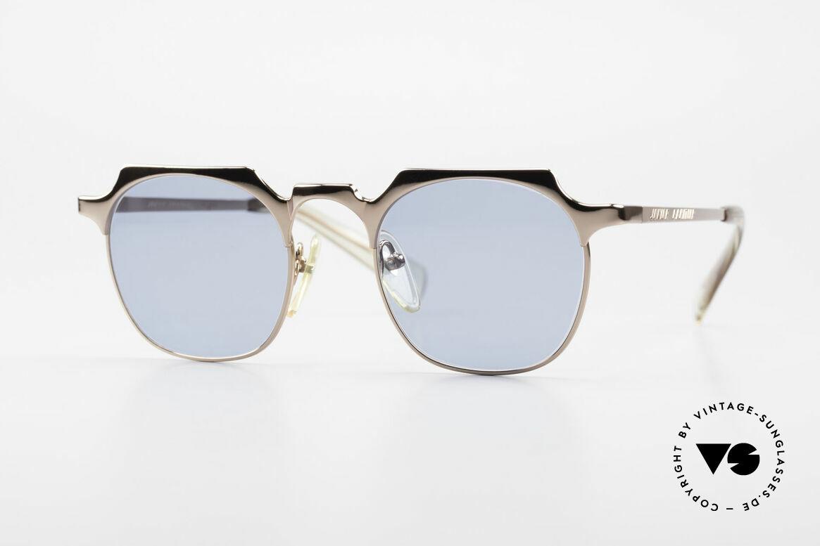 Jean Paul Gaultier 57-0171 Panto Designer Sonnenbrille, extrem edle Jean P. Gaultier vintage Sonnenbrille, Passend für Herren und Damen