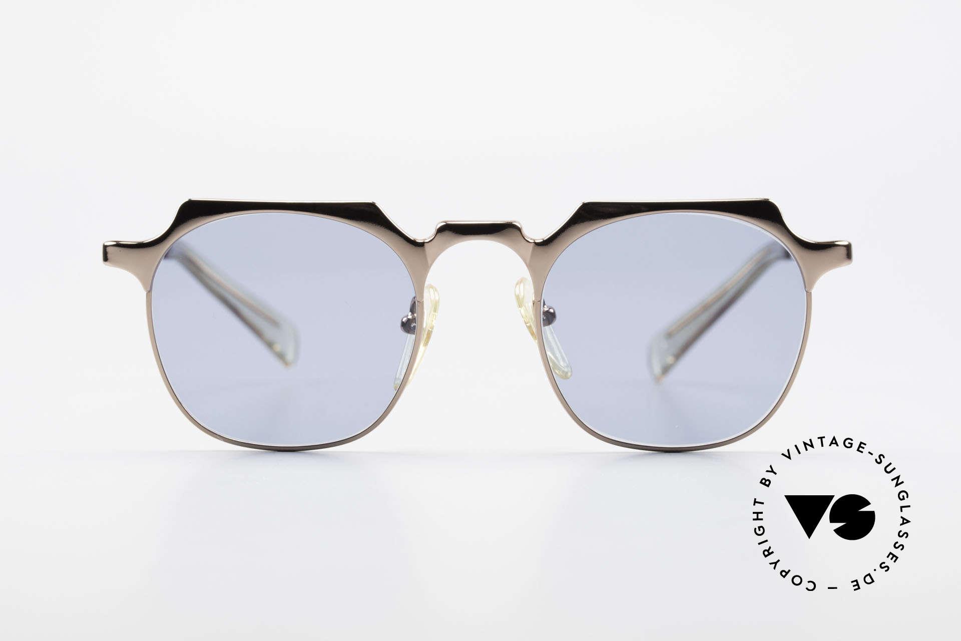 Jean Paul Gaultier 57-0171 Panto Designer Sonnenbrille, eines der TOP-Modelle der Junior Gaultier Series, Passend für Herren und Damen
